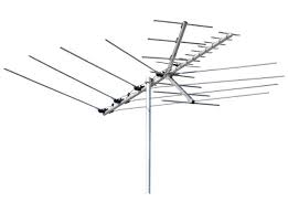 Channel Master 3016 Low and High VHF, UHF and FM Yagi HD TV antenna for OTA